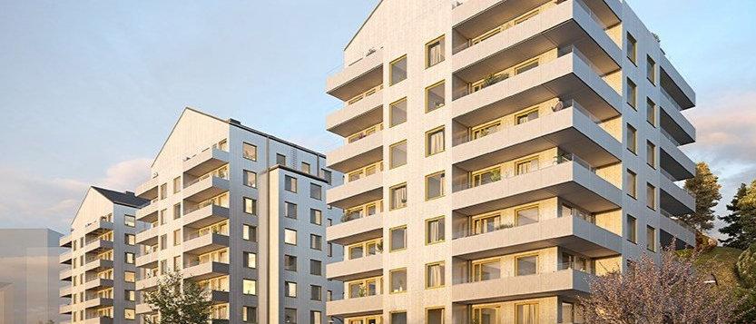 ZENIT / 41 lägenheter med 1-4 rum i Haninge/Vega / STENA FASTIGHE