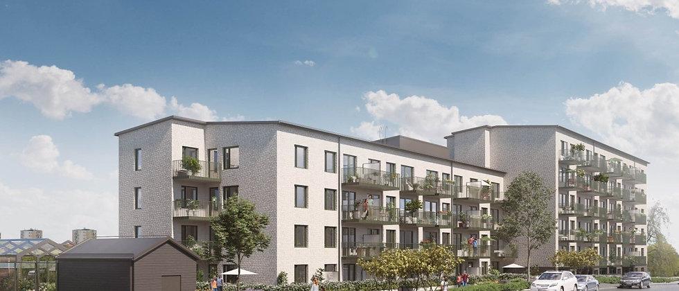 TEGELTERRASSEN / 42 lägenheter med 1-3 rum i Vällingby/Grimsta / BORÄTT