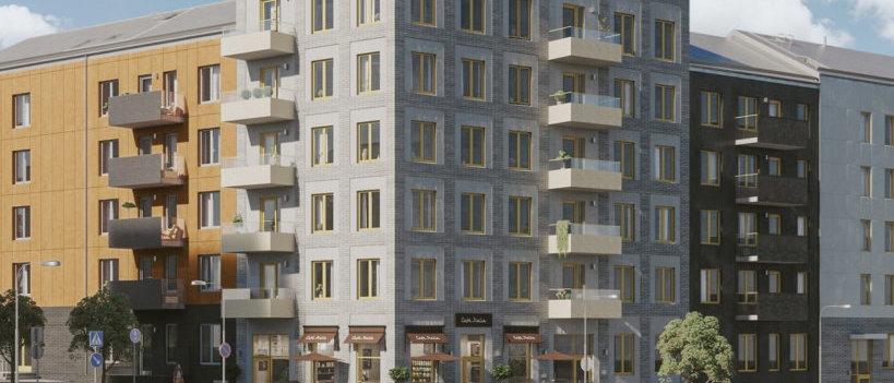 SKULPTURPARKEN / 83 lägenheter med 1-4 rum i Farsta/Sköndal / EINAR MATTSSON
