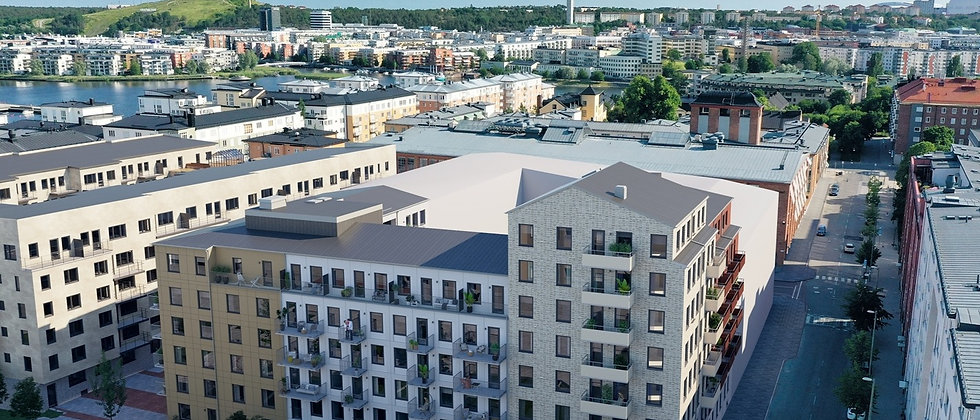 SPINNERIET / 88 lägenheter med 1-5 rum i Stockholm/Södermalm / VEIDEKKE