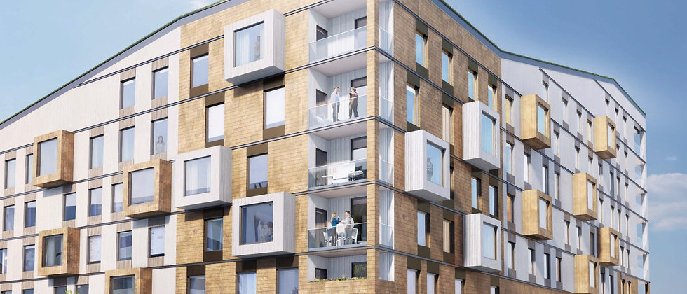 NYA GATAN / 137 lägenheter med 1-6 rum i Nacka / BOTRYGG