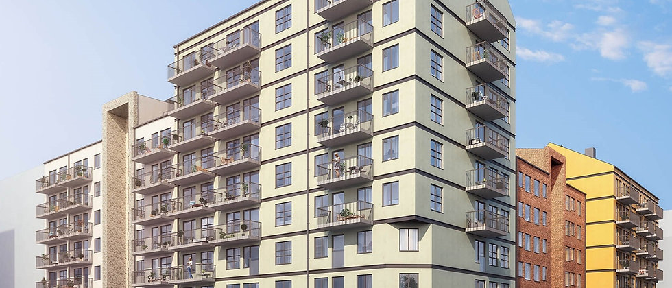 BLOMMA / 77 lägenheter med 1-4 rum i Huddinge/Sjödalen / IKANO