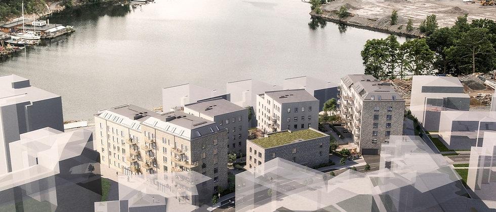 SOLVÄNDAN / 77 lägenheter med 1-5 rum i Nacka/Kvarnholmen / PEAB BOSTAD