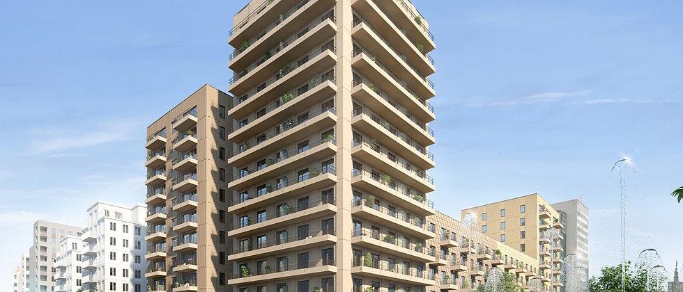 HAGA BOULEVARD / 127 lägenheter med 2-5 rum i Stockholm/Hagastaden / VEIDEKKE