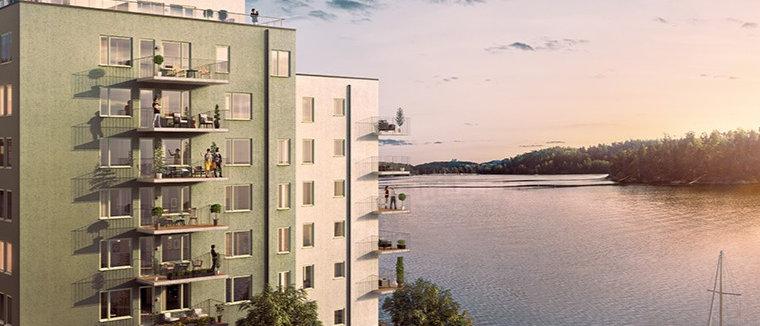 TOLLARE STRAND / 115 lägenheter med 1-5 rum i Nacka/Tollare / HSB