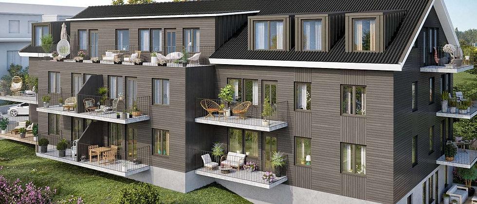 NESTOR / 13 lägenheter med 2-5 rum i Norrtälje/Mosebacke / CREDENTIA