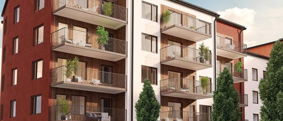 HAMNTRÄDGÅRDEN 1 / 65 lägenheter med 2-5 rum i Norrtälje / JM