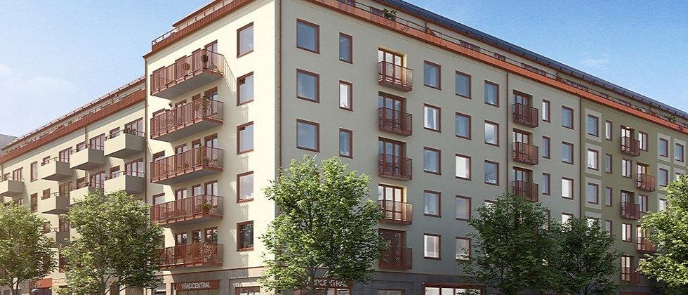 LINNEAN / 58 lägenheter med 1-5 rum i Solna/Järvastaden / SKANSKA