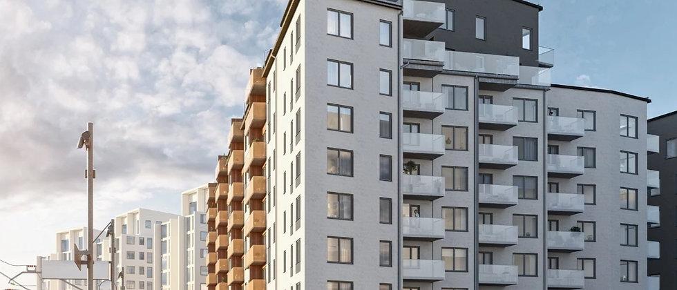 STRANDKANTEN PRÅMEN / 44 lägenheter med 1-5 rum i Stockholm/Bromma / JM