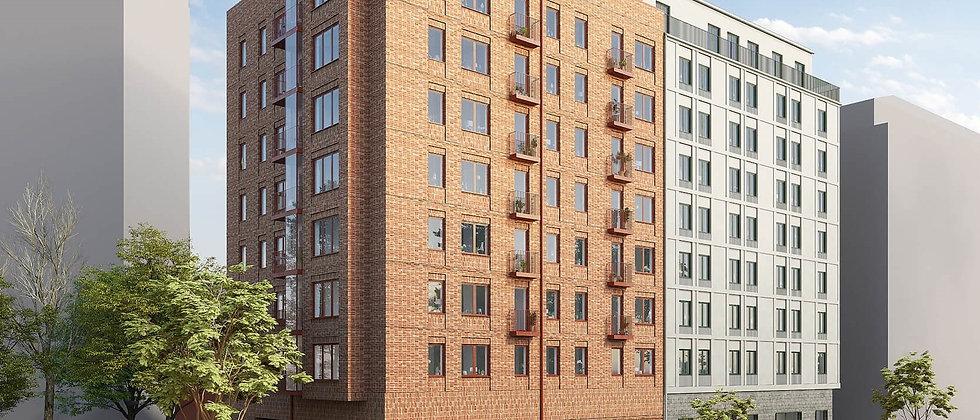 SOLNA CENTRUM / 350 lägenheter med 1-4 rum i Solna Centrum / BESQAB