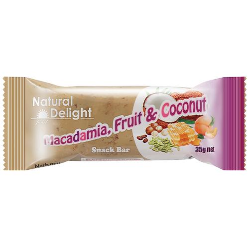 Macadamia Fruit & Coconut Bar 盈纖椰子雜果夏威夷果仁棒