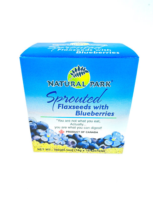 Natural Park Blueberries Sprouted Flaxseeds然康派藍莓破壁亞麻籽