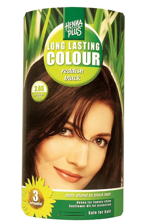 海靈長效天然染髮霜深紅色 - 2.66