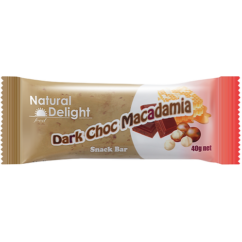 Dark Choc Macadamia Bar盈纖黑朱古力夏威夷果仁棒
