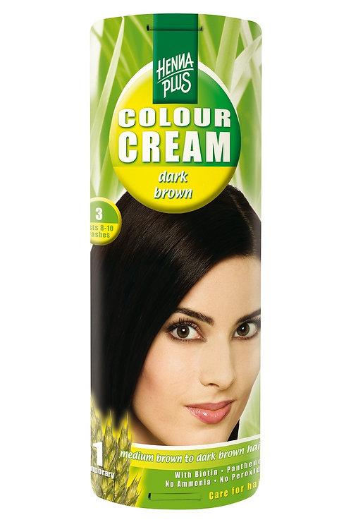 海靈天然染髮霜深啡色 - 3
