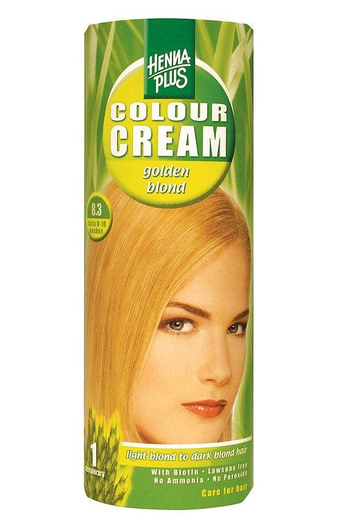 海靈天然染髮霜淺金黃色 - 8.3