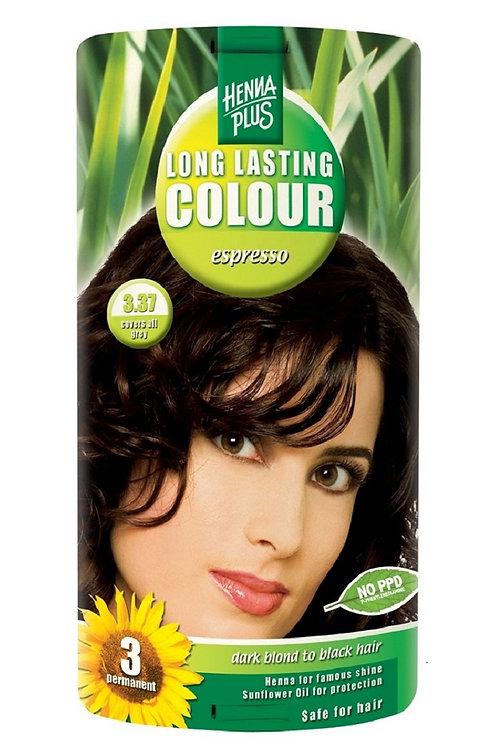 海靈長效天然染髮霜特濃咖啡色 -  3.37