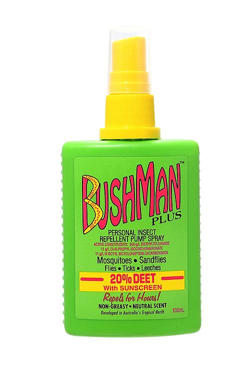 Bushman 泵裝蚊怕水加防曬