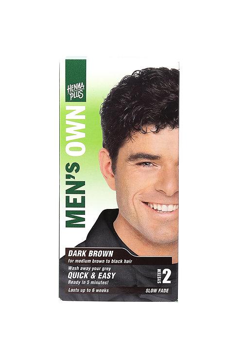 海靈男士染髮霜 - 深啡色