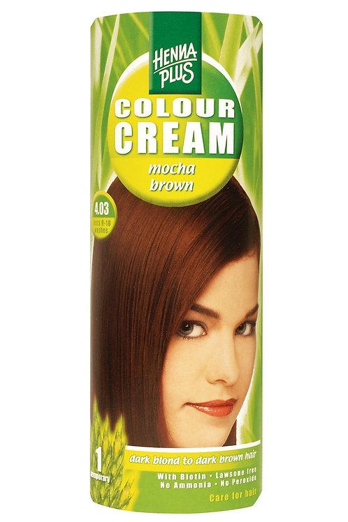 海靈天然染髮霜啡紅色