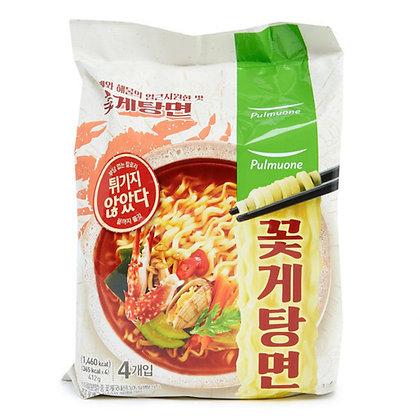 圃木園 - 非油炸花蟹海鮮麵(4包裝)