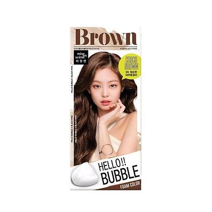 MISE EN SCENE - HELLO BUBBLE 精油護髮泡沫染髮劑 #6N(Choco Brown)朱古力棕色