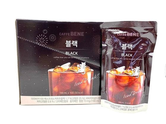 Caffebene - Caffe Bene 黑咖啡-一盒 10 x 190 毫升