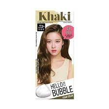 MISE EN SCENE - HELLO BUBBLE 精油護髮泡沫染髮劑 #7K(Ash Khaki)卡其棕色