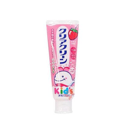 花王 - 日本防蛀牙防可吞咽兒童牙膏 - 草莓 70g