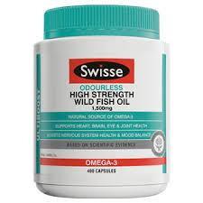 Swisse - ULTIBOOST 無腥味高濃度野生魚油 1500mg 400粒