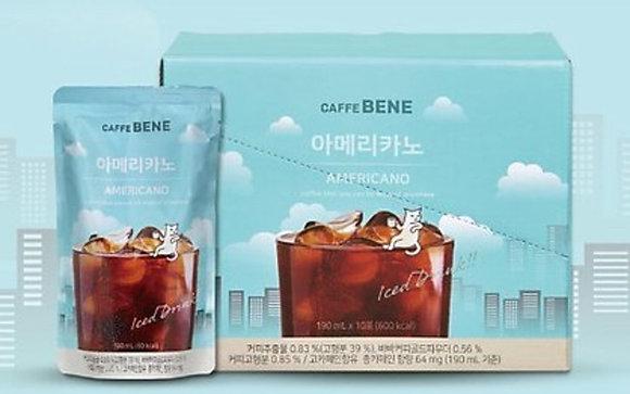 Caffebene - Caffe Bene 美式咖啡- 一盒 10 x 190 毫升