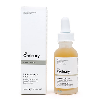 The Ordinary 溫和乳酸去角質精華 (乳酸5% + 透明質酸) Lactic Acid 5% + HA 30ml