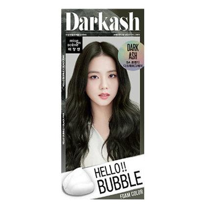 MISE EN SCENE - HELLO BUBBLE 精油護髮泡沫染髮劑 #5A(Dark Ash)煙燻茶黑色