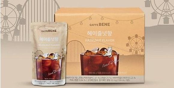 Caffebene - Caffe Bene 榛子咖啡-一盒 10 x 190 毫升