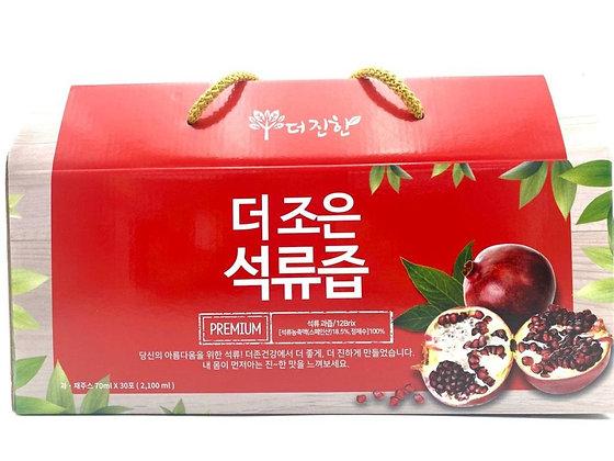 Thezoen - 韓國健康瘦身石榴果汁 (70ml x 30包)