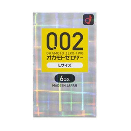 Okamoto - 岡本0.02mm 大碼安全套 6片裝
