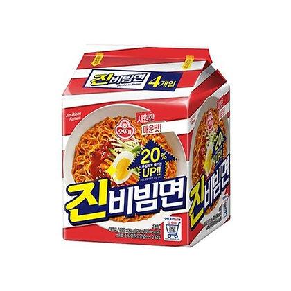 不倒翁 - 真拌麵 (4包裝) (624克)