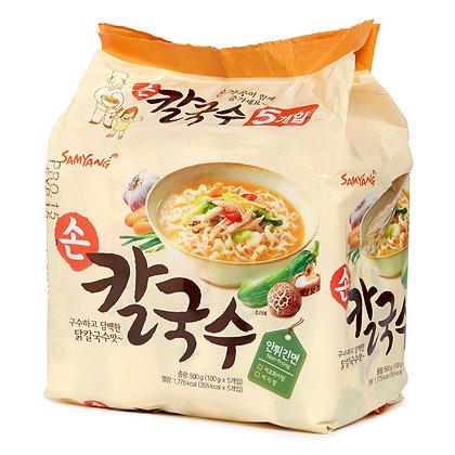 三養 - 雞肉洋蔥風味拉麵 100g x 5包裝