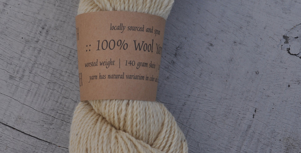 Worsted Weight | Yarn | Ivory
