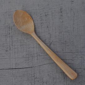 eating spoon in birch
