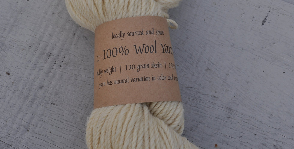 Bulky Weight | Yarn | Ivory