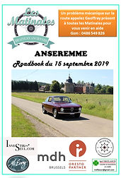 COUVERTURE ROADBOOK Anseremme 15 09 2019