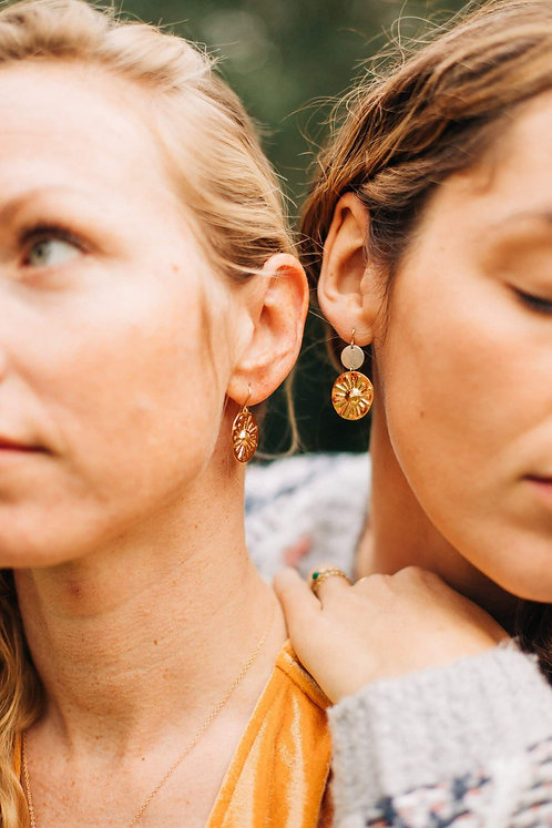 Grandes boucles Inti - or