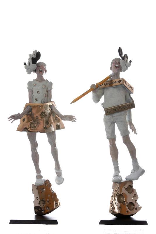 groupings Minnie & Mickey Pair