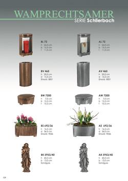 Nistelberger Laternen, Vasen, Grabschmuck, Bronze, Wamprechtsamer Seite 328