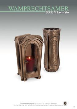 Nistelberger Laternen, Vasen, Grabschmuck, Bronze, Wamprechtsamer Seite 349