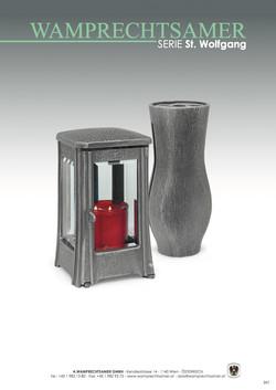 Nistelberger Laternen, Vasen, Grabschmuck, Bronze, Wamprechtsamer Seite 347