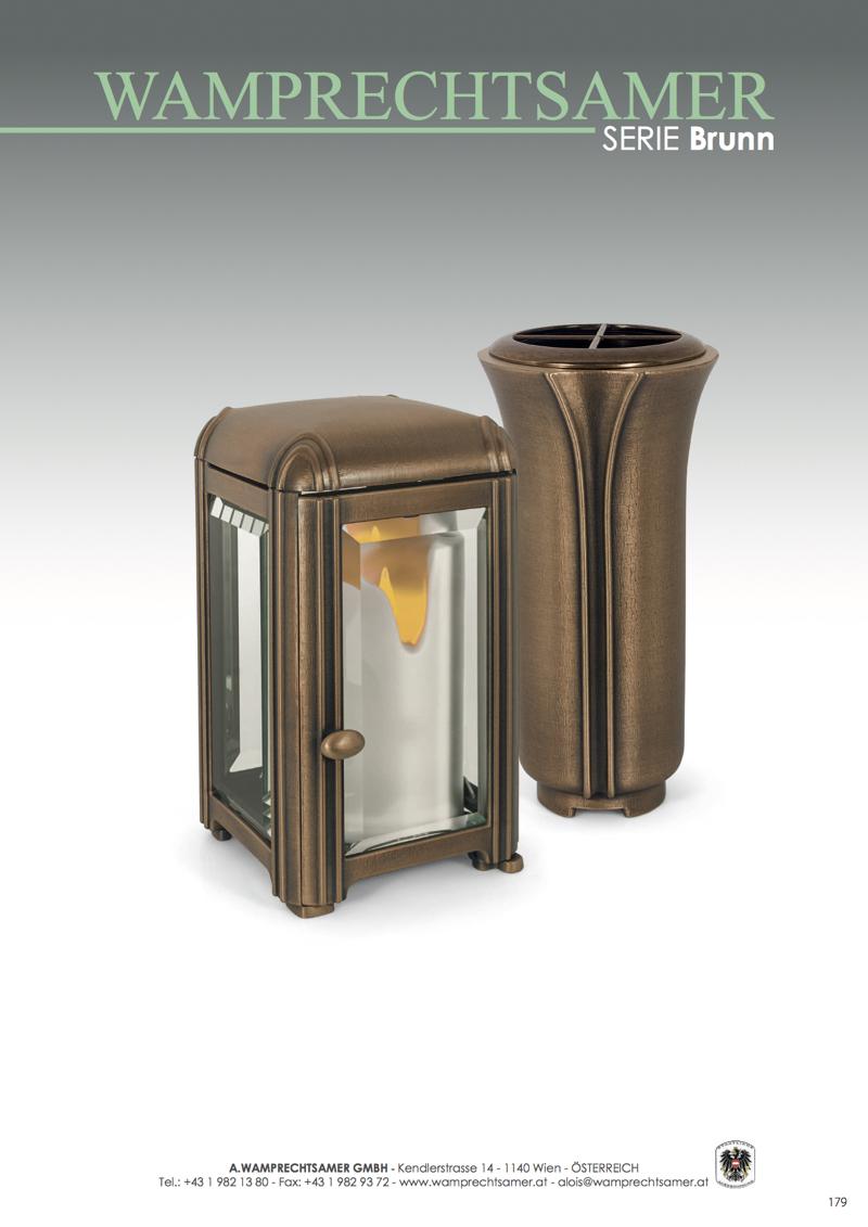 Nistelberger Laternen, Vasen, Grabschmuck, Bronze, Wamprechtsamer Seite 179
