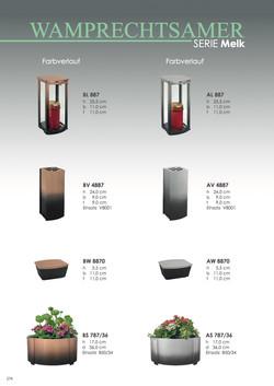 Nistelberger Laternen, Vasen, Grabschmuck, Bronze, Wamprechtsamer Seite 274
