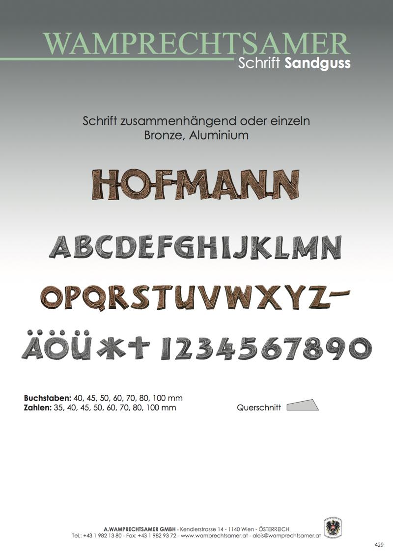 Nistelberger Laternen, Vasen, Grabschmuck, Bronze, Wamprechtsamer Seite 429